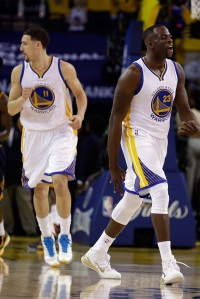 Golden State Warriors Klay Thompson Draymond Green