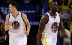 Golden State Warriors Klay Thompson Draymond