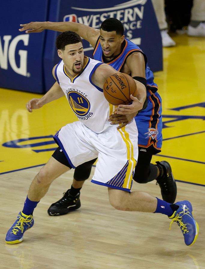 Klay Thompson Golden State Warriors Western Conference Finals