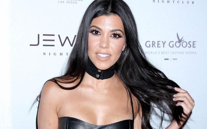 Kourtney Kardashian las vegas jewel nightclub aquazzura boots drake