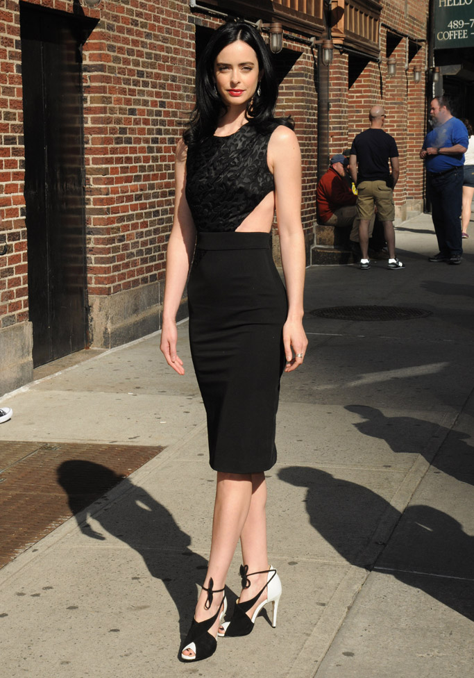Krysten Ritter Celebrity Statement Shoes May 2016