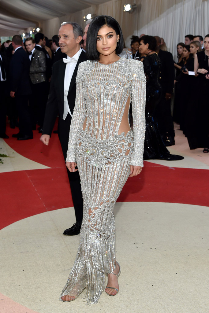 Kylie Jenner Met Gala 2016 Red Carpet Shoes