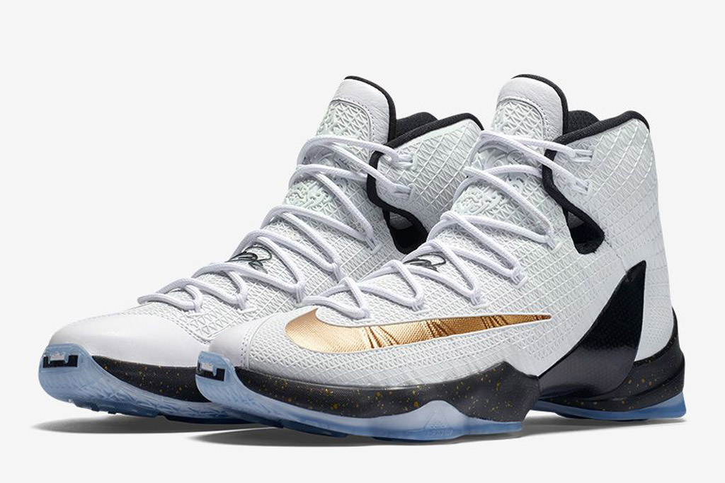 Nike LeBron 13 Elite Gold