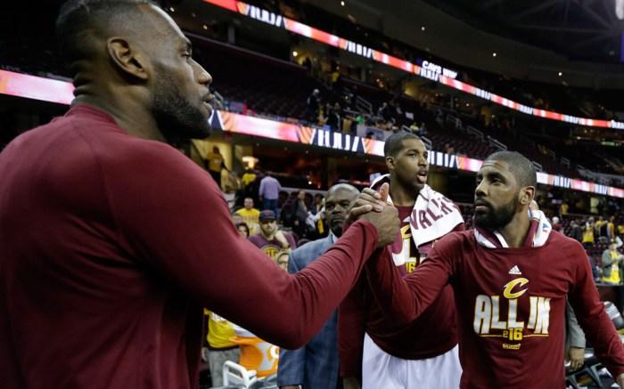 LeBron james Kyrie Irving Cleveland Cavaliers Nike Kyrie 2 LeBron 13