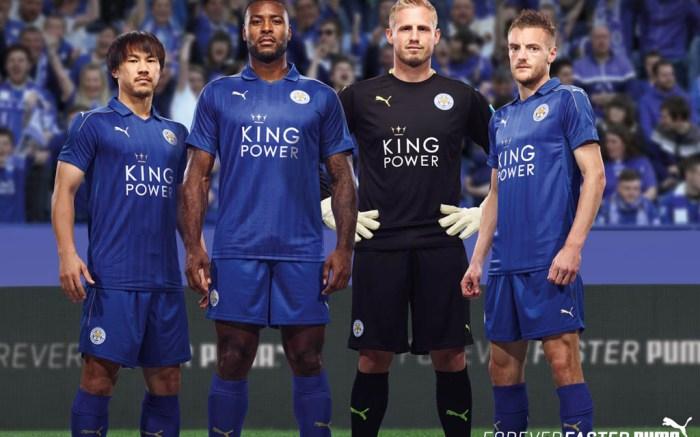 Leicester City Football Club kit puma