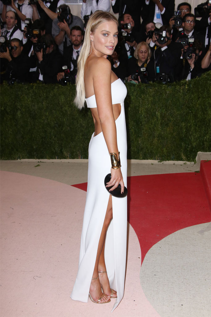 Margot Robbie Met Gala 2016 Red Carpet Shoes