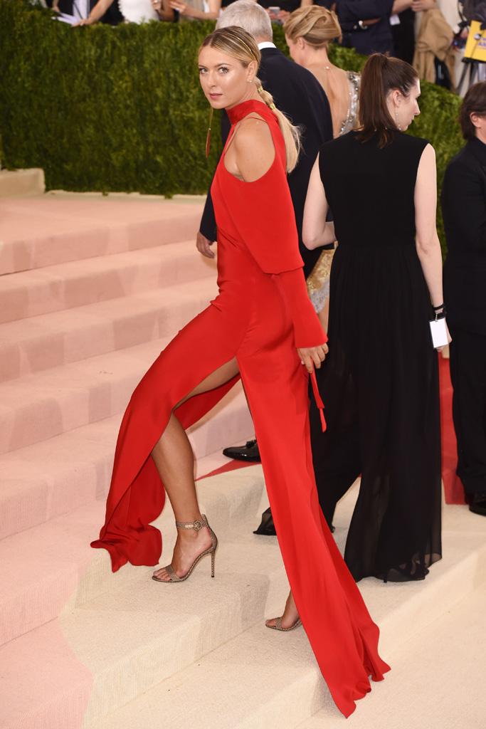 Maria Sharapova Met Gala 2016 Red Carpet Shoes