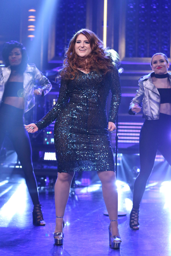 Meghan Trainor Jimmy Fallon Fall