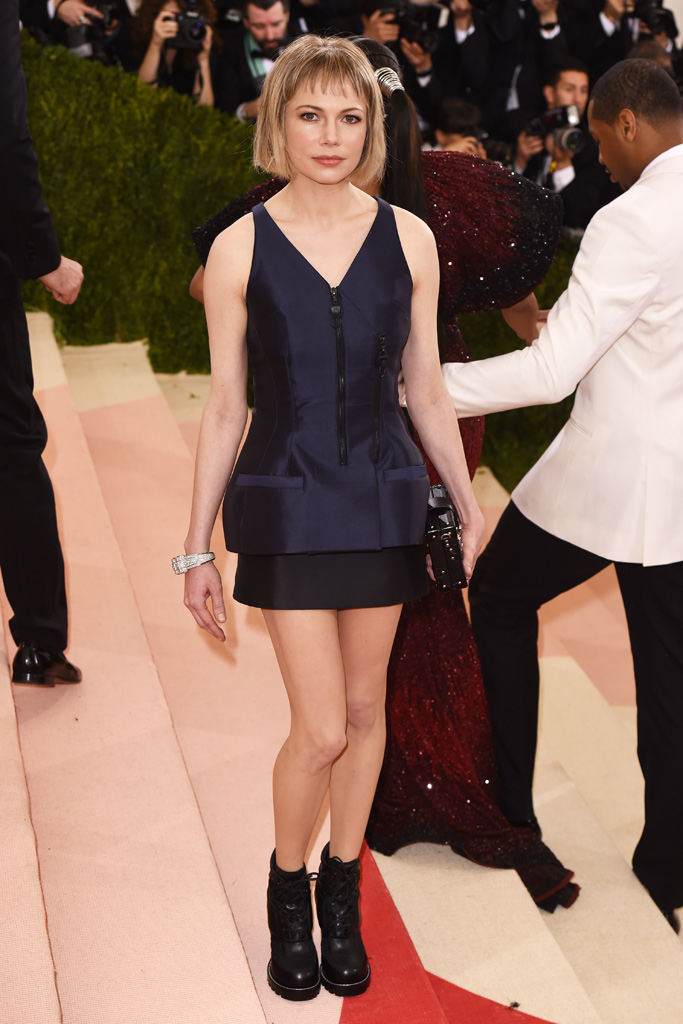 Michelle Williams Met Gala 2016 Red Carpet Shoes