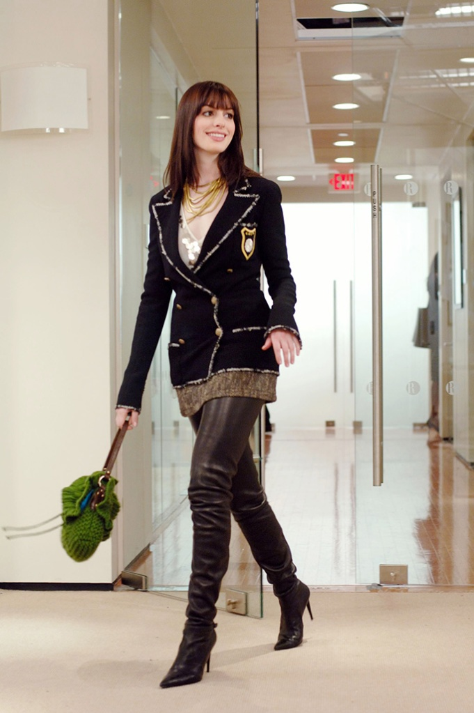 The Devil Wears Prada, movies with shoe moments, chanel boots