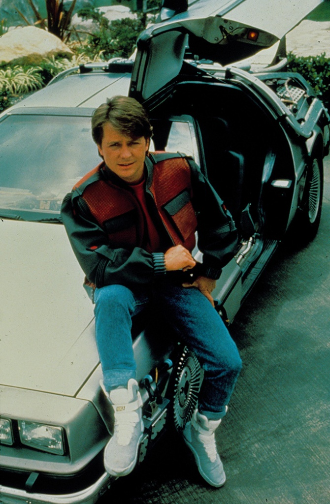 back to the future, movies with shoe moments, nike