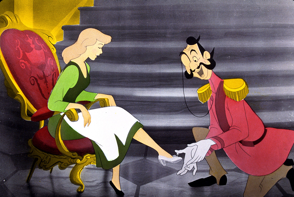 cinderella, glass slippers, movies with shoe moments