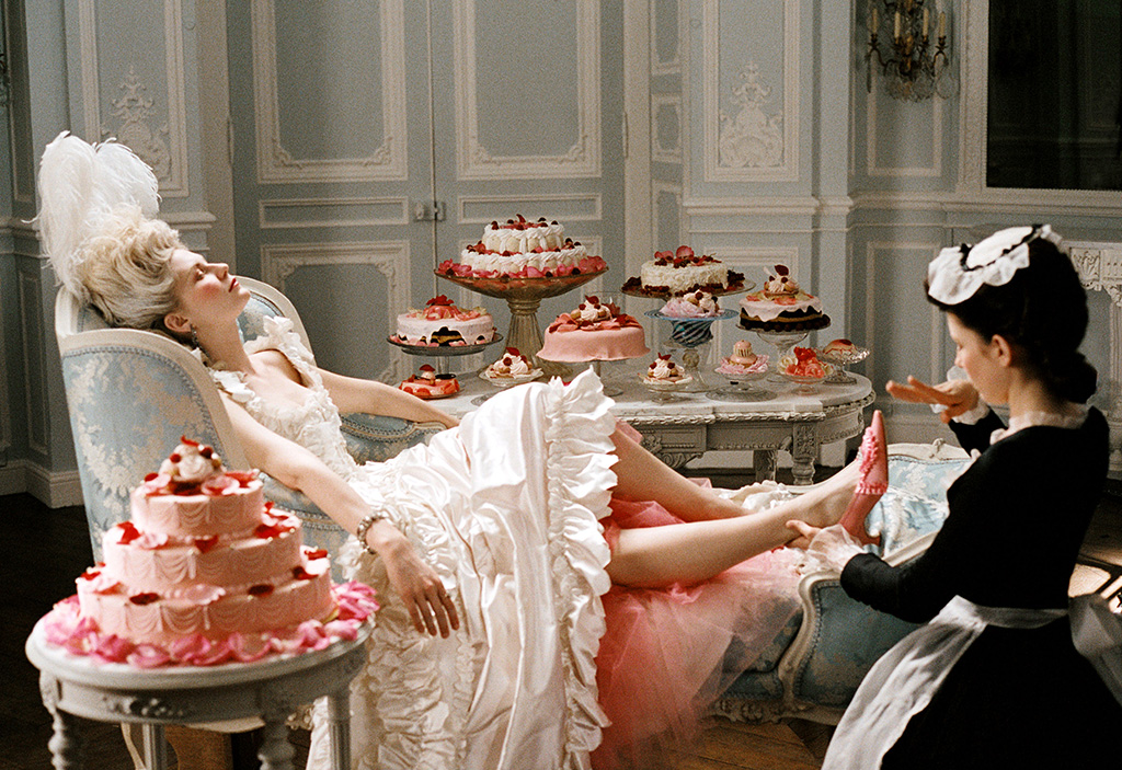 Marie Antoinette, movies with she moments, manolo blahnik