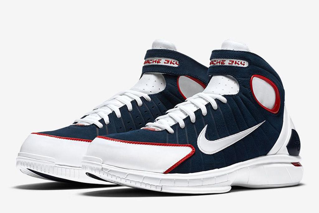 Nike Air Zoom Huarache 2K4 University Red