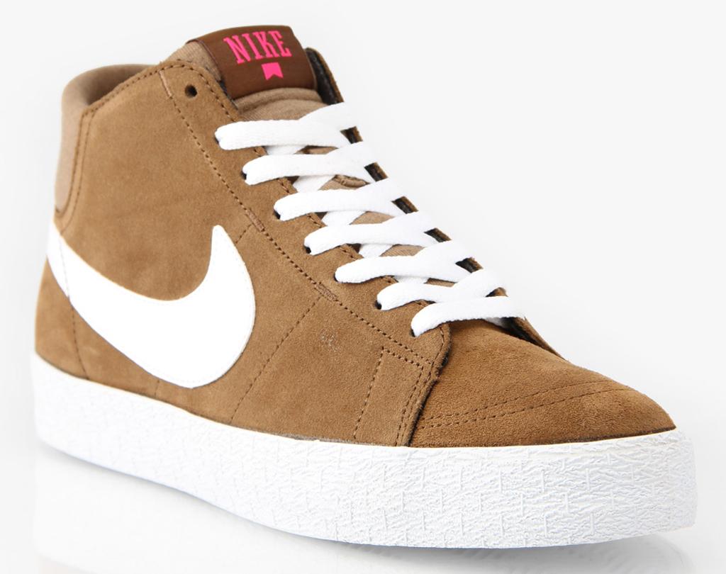 Nike SB high-top skate shoes