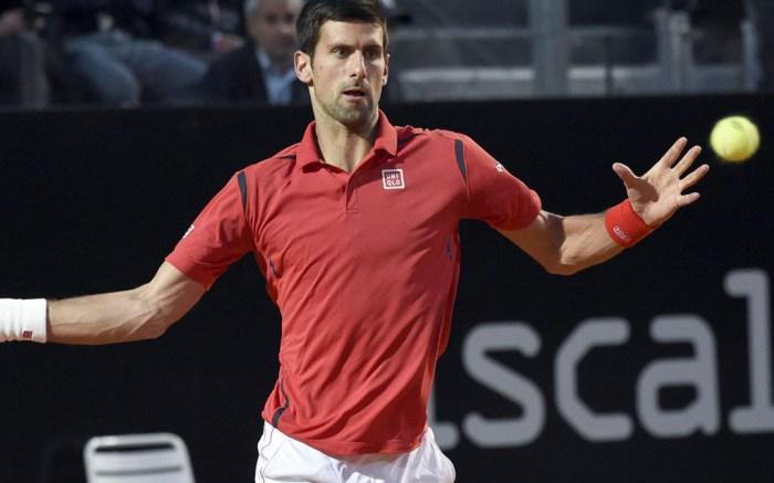 Novak Djokovic tennis rome italy open tennis adidas
