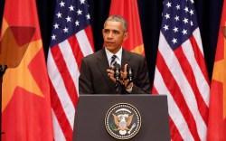 President Barack Obama in Vietnam