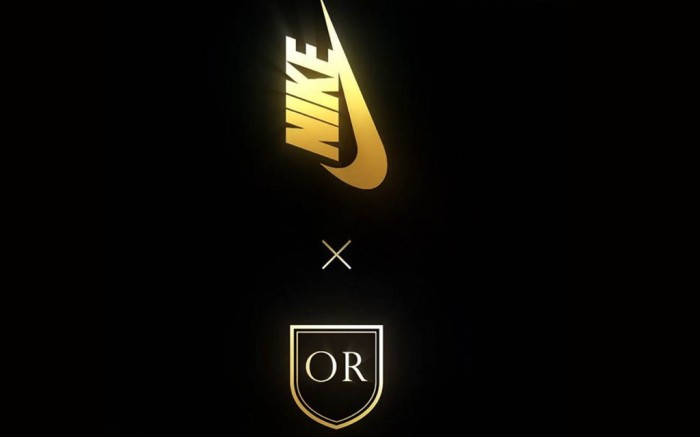 Olivier Rousteing Nike Lab balmain