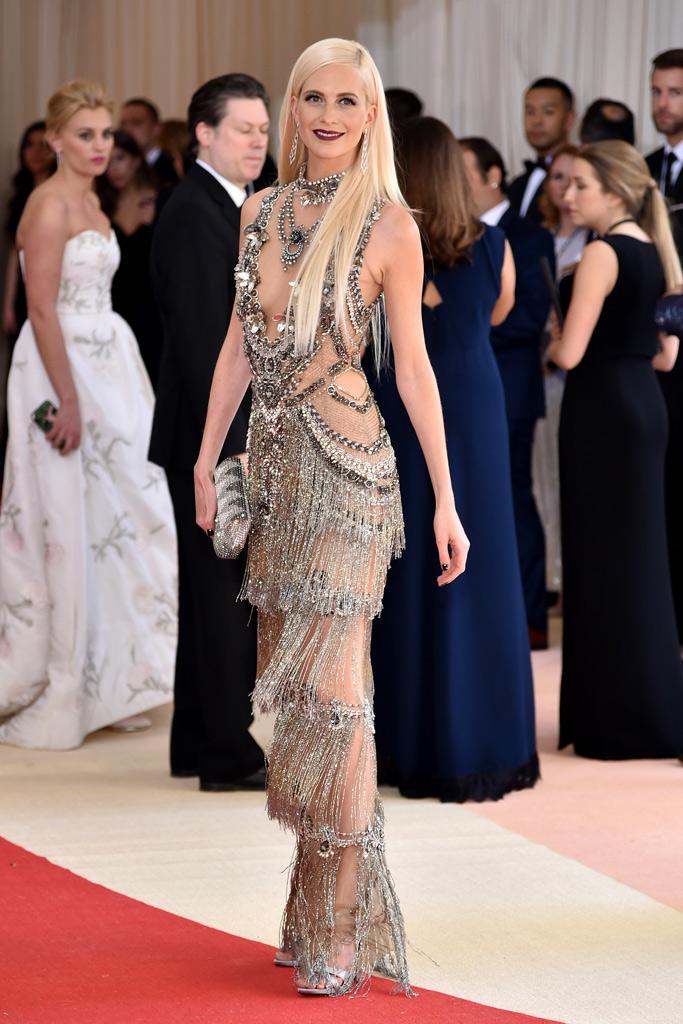 Poppy Delevingne Met Gala 2016 Red Carpet Shoes