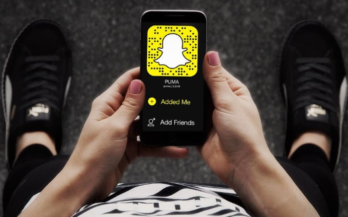 Puma Snapchat