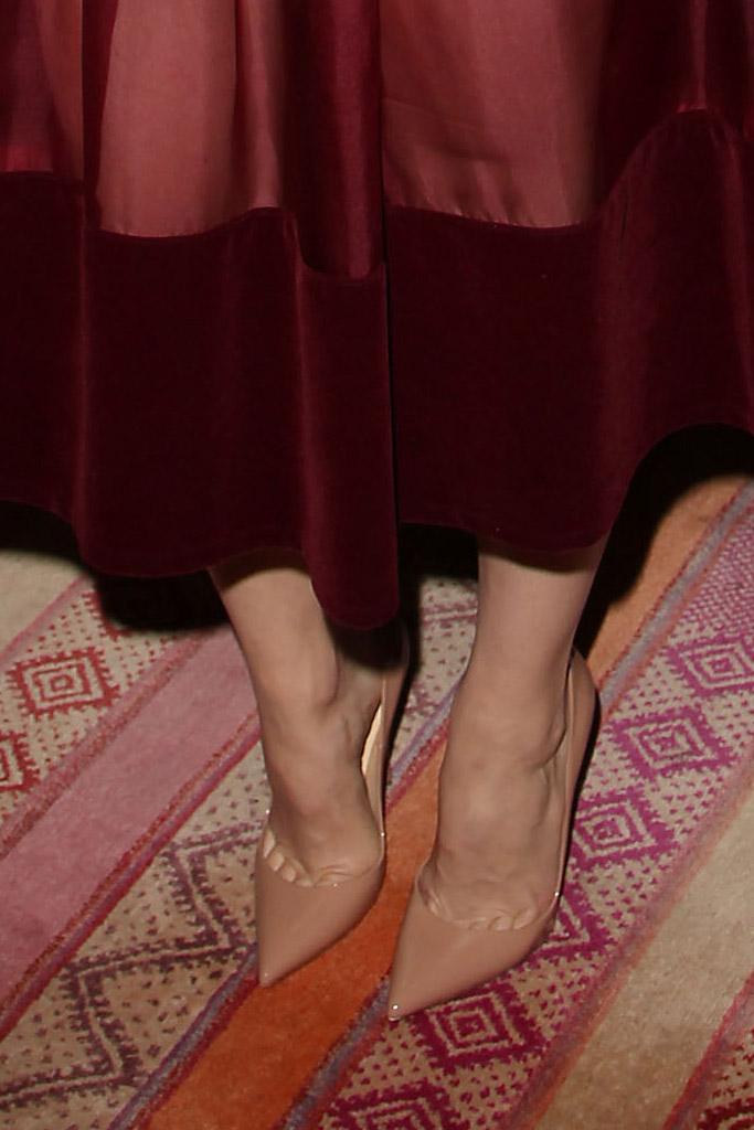 Rachel McAdams Celebrity Statement Shoes May 2016