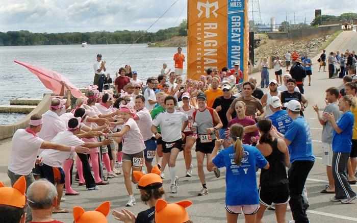 Reebok Runners Ragnar Relay Winona Minnesota