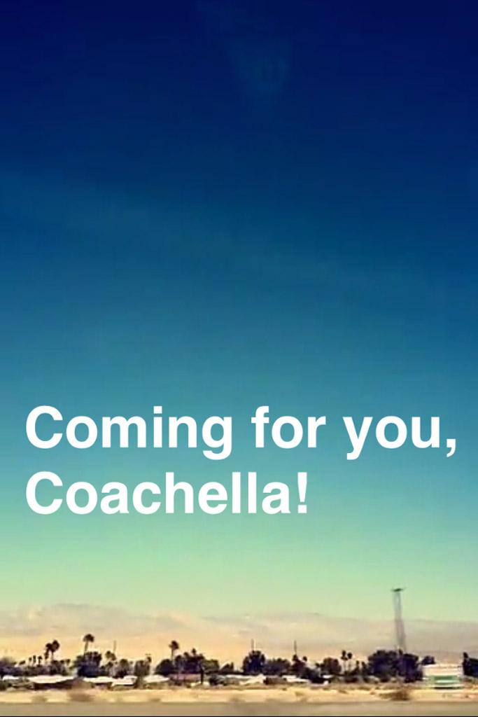 Rebecca Minkoff Snapchat Coachella