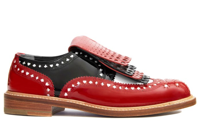Robert Clergerie Alice Through The Looking Glass brogue
