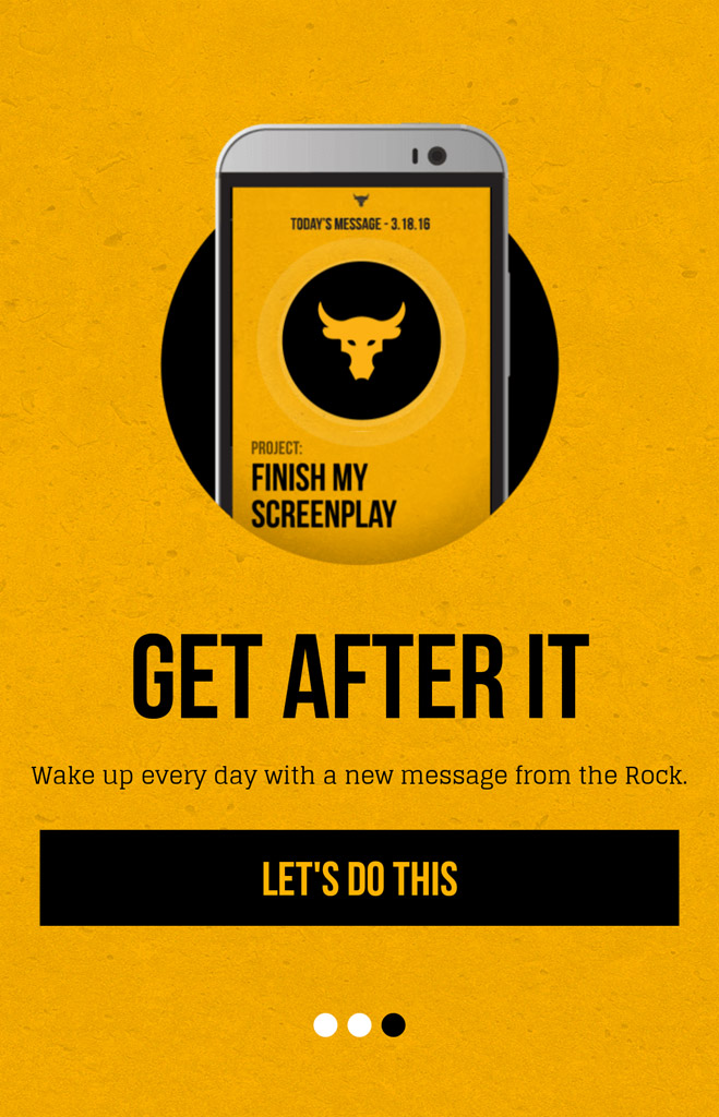 Rock Clock Dwayne Johnson The Rock Alarm Clock Project Rock