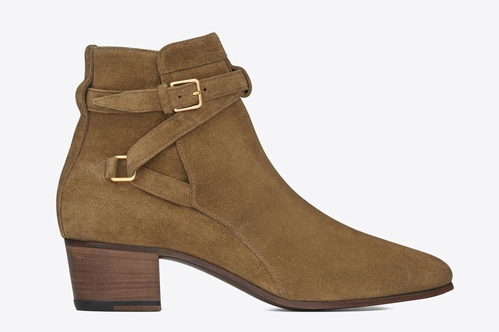 Saint Laurent signature Blake 40 Jodhpur boots