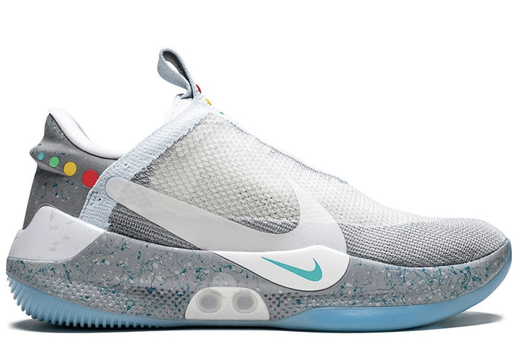Nike Adapt BB MAG sneakers, back to the future, movies with shoe moments