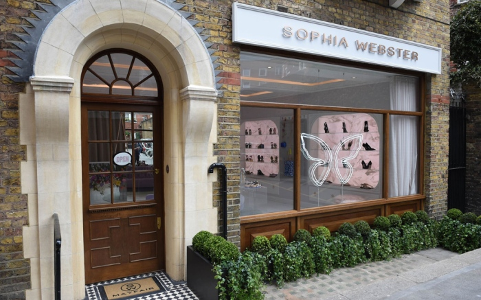 Sophia Webster Store Mayfair London