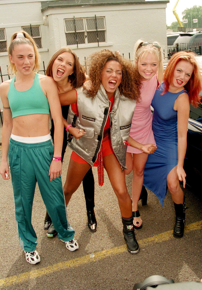 spice girls shoes style fashion