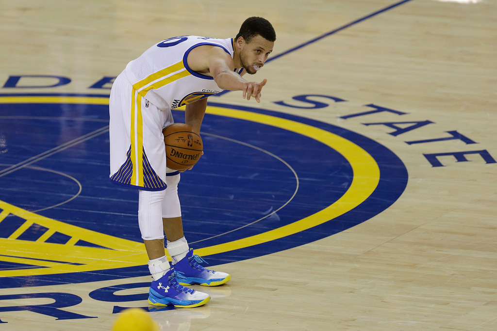 Stephen Curry Warriors Western Conference FInals