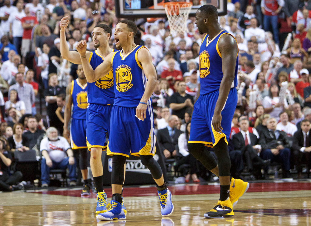 Stephen Curry Golden State Warriors Under Armour Curry 2.5 Klay Thompson Draymond Green