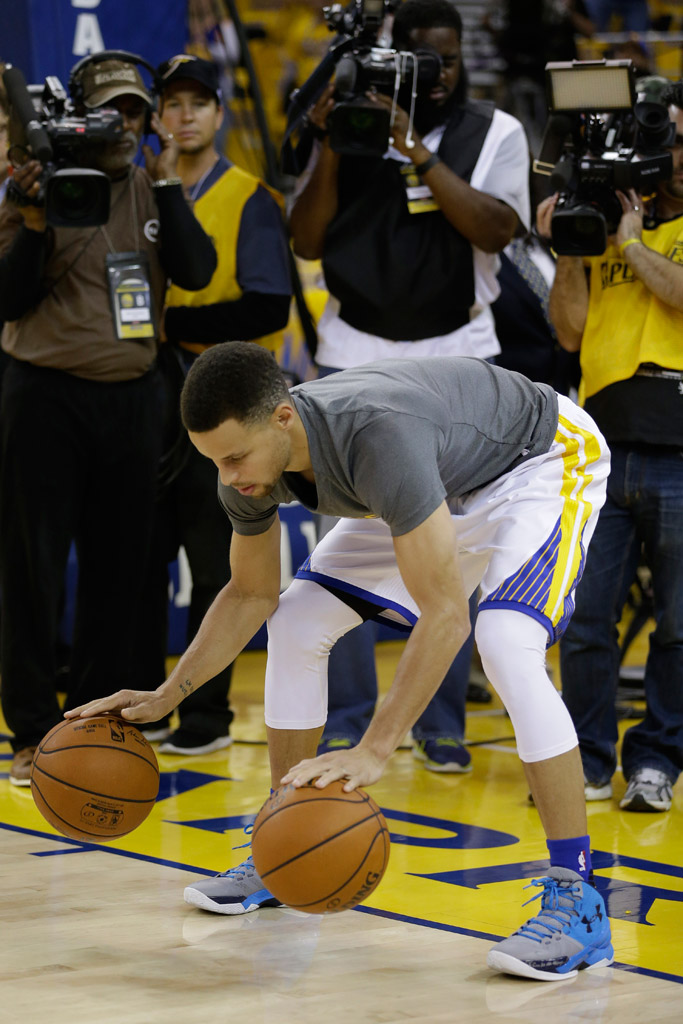 Stephen Curry Under Armour Curry Two Electric Blue