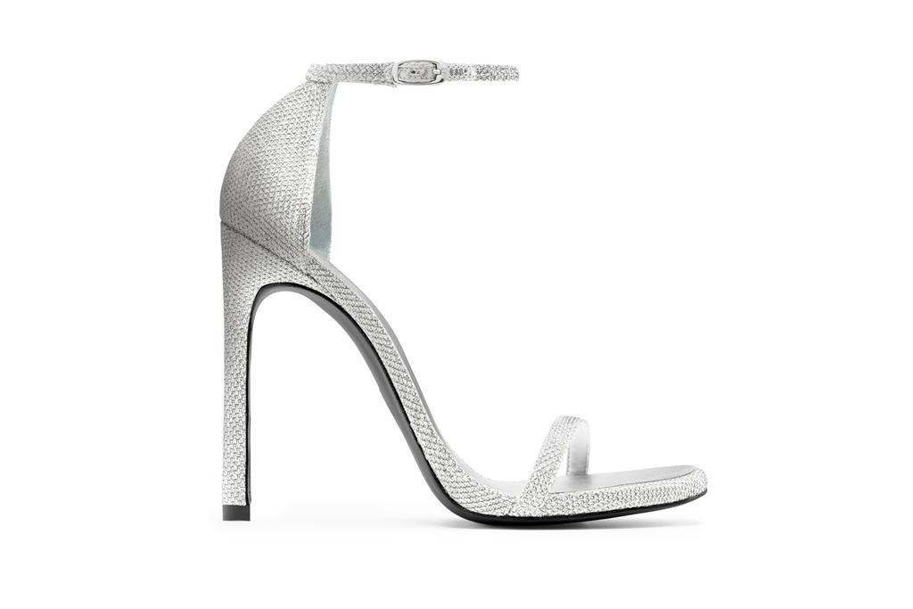 Stuart Weitzman Nudist Sandal Wedding Shoes