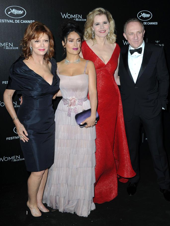 Susan Sarandon Geena Davis Cannes Film Festival 2016