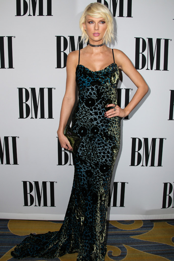 Taylor Swift BMI Pop Awards Shoes