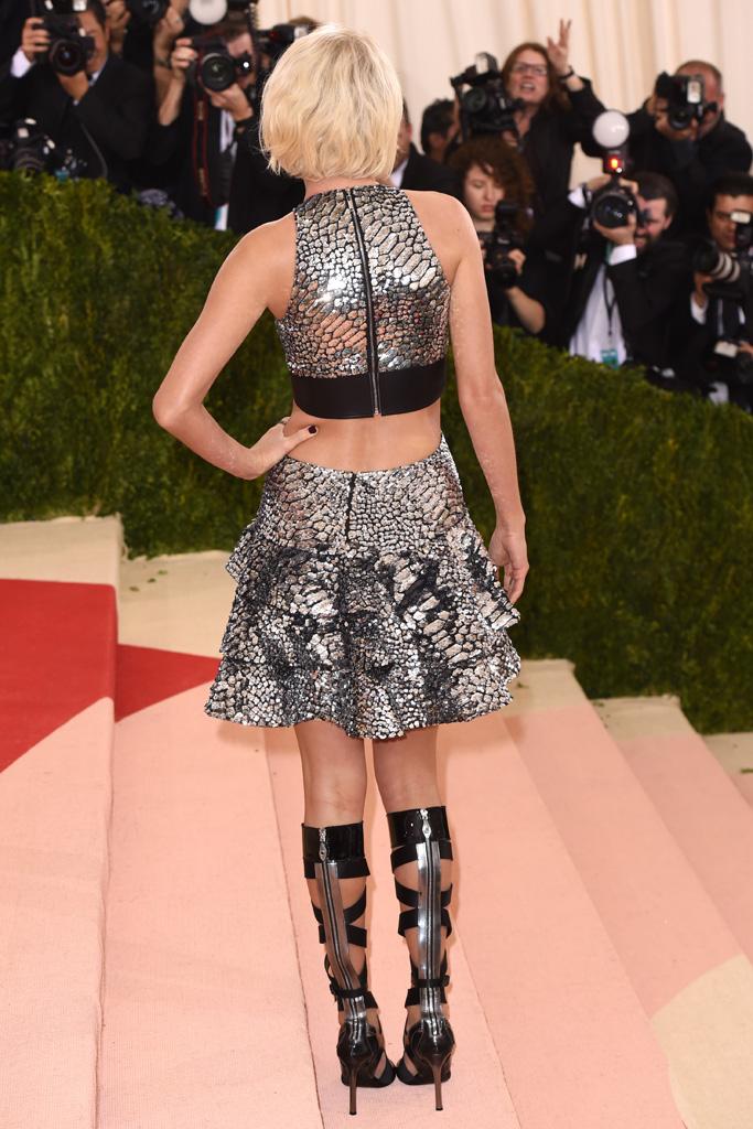 Taylor Swift Met Gala 2016 Red Carpet Shoes