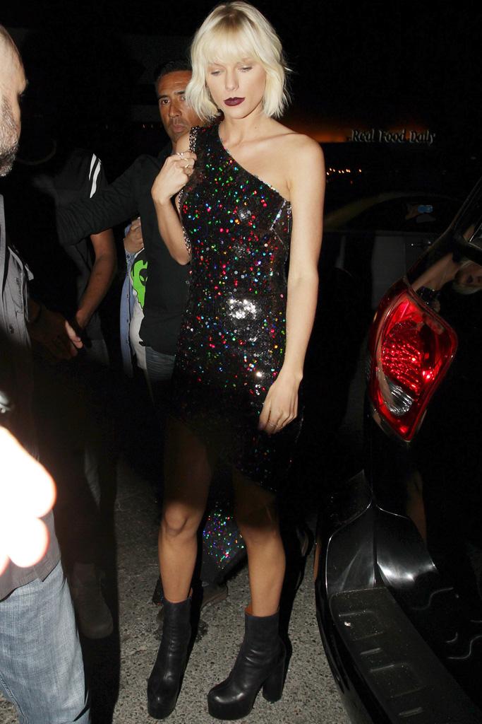 Taylor Swift Black Vetements Boots