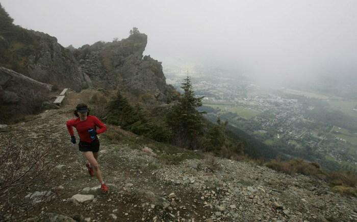 Ultramarathoner Scott Jurek Mount Si North Bend Washington