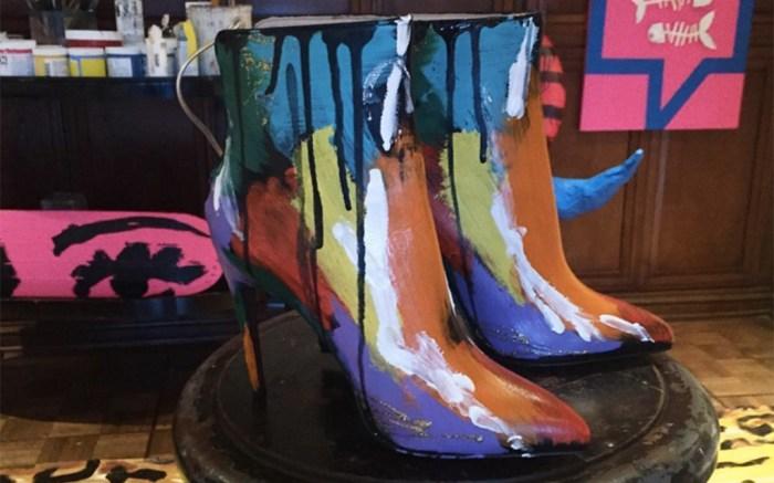 Donald Robertson Valentina Carrano Shoe Collaboration