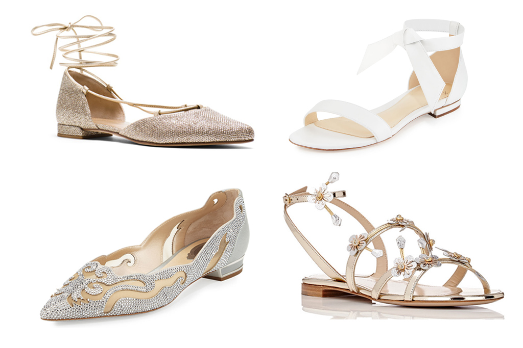 12 Flats Perfect For A Summer Wedding
