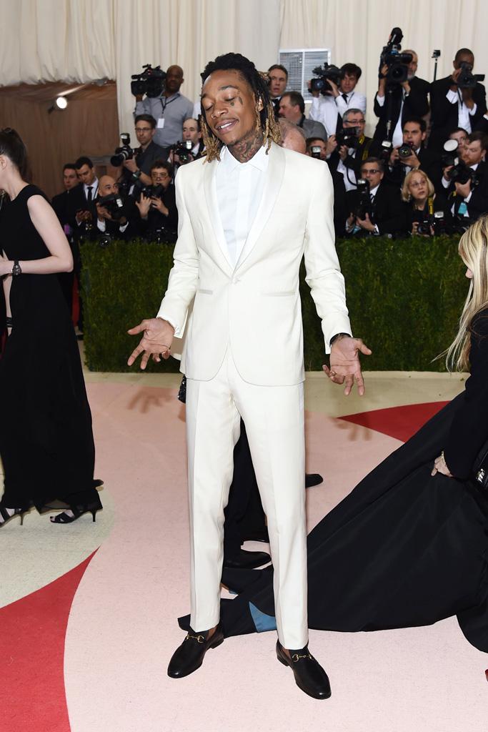 Wiz Khalifa Met Gala 2016 Red Carpet Shoes
