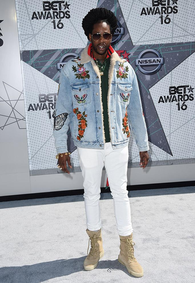 2 Chainz BET Awards 2016 Red Carpet