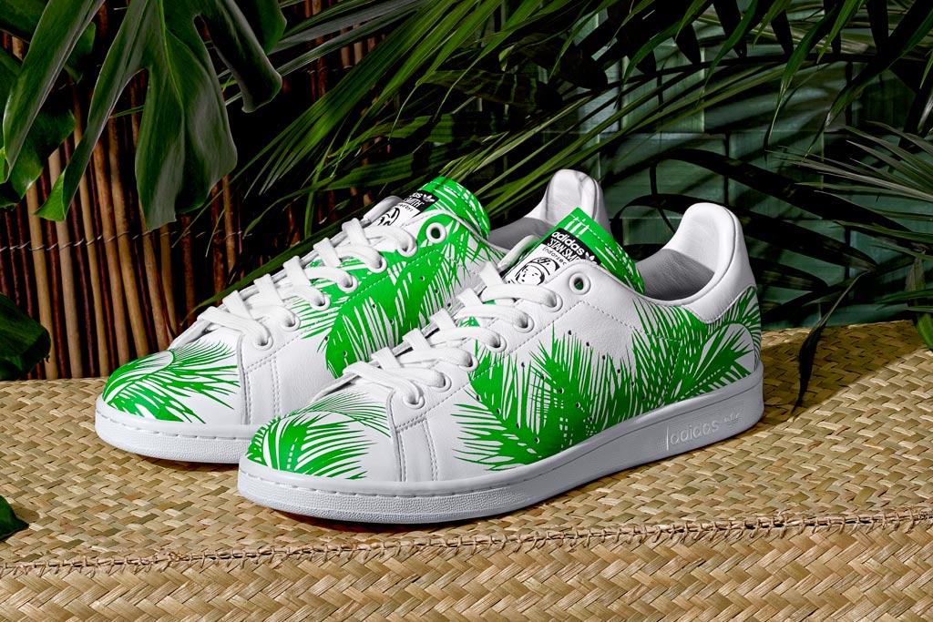 Adidas Originals BBC Palm Tree Pack Release