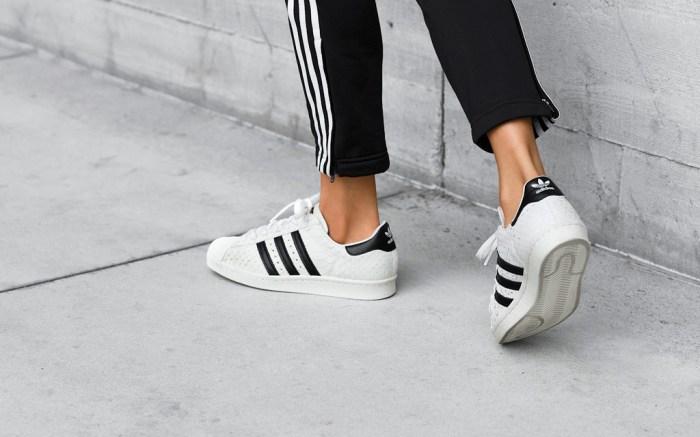 Adidas Superstar 80s Snakeskin Embossed Women
