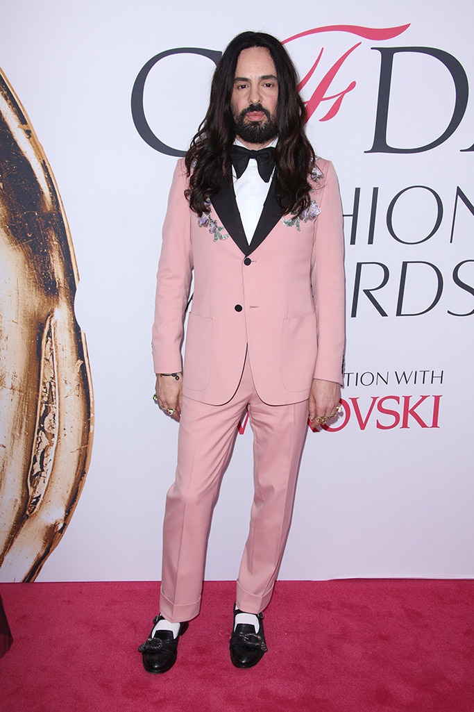 Alessandro Michele CFDA Awards 2016
