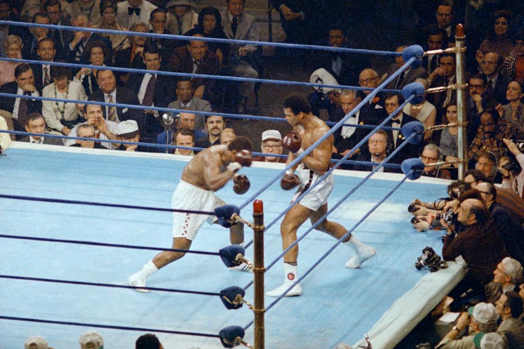 Muhammad Ali Joe Frazier Adidas Everlast